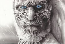 """Game of Thrones White Walker ART CHARCOAL DRAWING 8X12"""" ORIGINAL"""