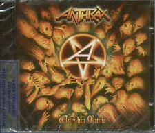 ANTHRAX WORSHIP MUSIC + BONUS TRACK SEALED CD NEW 2011