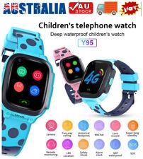 Kids Smart Watch Video Call GPS LBS Tracker Phone 4G Children Wrist Smartwatch