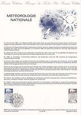 Document Philatélique Timbre 1er Jour : 22/10/ 1983 - Météorologie Nationale