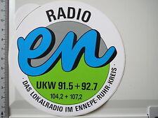 Aufkleber Sticker Radio EN - Ennepe Ruhr Kreis (M1383)