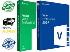 BUY NOW🔥 and get 2 keys for the price of 1 for  Visio2019Pro™ + Project2019Pro™