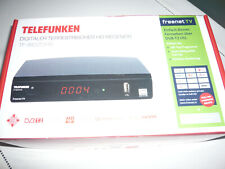 Telefunken TF-9820T2HD DVB-T2 Receiver HEVC Full HD HDMI USB Irdeto freenet tv