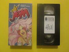 Jem Vol 1 Passport to Rock 80's Cartoon Strawberry Shortcake Rainbow Brite VHS