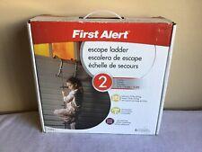 New Open Box First Alert 2 Story 14ft Preassembled Escape Ladder El52-2