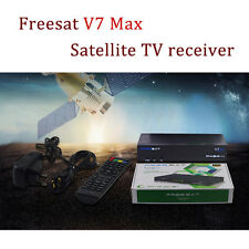 1080P HD DVB S2 Freesat V7 Max Decoder FTA Satellite Receiver HD YouTube USB wif