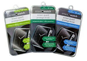 Smart Watch Screen Guard, Pack of 3, 38mm, 40mm, 42mm, Ultra Sensitive