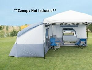 Camping Tent 8-person 10 X 10 Ft. Connectent For Straight-leg Canopy