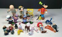 Sponge Bob Square Pants Big Baby Pixar Disney Goofy Miniature Toy Characters