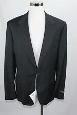 NWT Canali Men's Suit 46R-40W Dark Gray 100% Wool Classic Fit Made in Italy