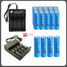 USA 14500 Rechargeable Battery 1800mAh 3.7V Li-ion 14500 Battery Smart Charger