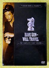 Have Gun Will Travel - Complete First Season 1 (DVD 6-Disc Set) New Western Show