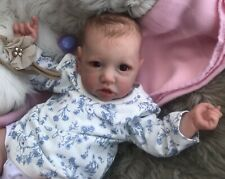 BEAUTIFUL Reborn baby doll..BONNIE...brown eyes