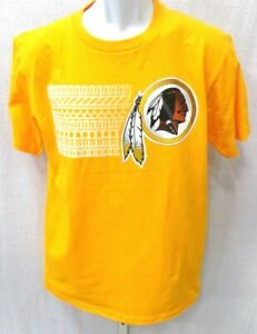 Washington Redskins Robert Griffin III Short Sleeve Shirt Yellow Gold Medium