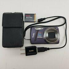 Kodak EasyShare Digital Camera 8x M580 14.0 MP point shoot Case Card Complete