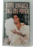 Dionne Warwick Sings Cole Porter Audio Cassette 1990 Arista Records