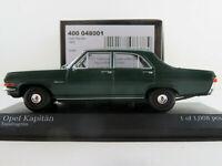 Minichamps 400 048001 Opel Kapitän (1964) in tundragrün 1:43 NEU/OVP Lim. Ed.