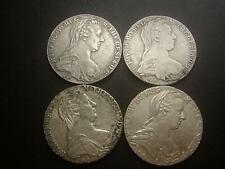 4 Stk Maria Theresia Taler 1780 ältere SF 112 g Silber - Silbermünzen W/20/684