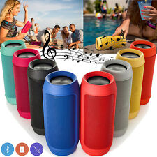Bluetooth Speaker Wireless Portable music Speaker with Mic for Bike Car Phones