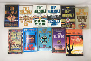 11 x Tony Hillerman Leaphorn and Chee  Navajo Mysteries Job Lot PB