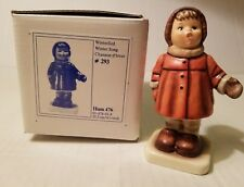 Hummel Goebel Winter Song #293.Pre-owned with Box. Mint Condition. (E16#199dr)