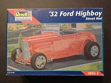 Revell Monogram '32 Ford Highboy Street Rod Model Car Kit 1:25 Scale Kit#85-7625