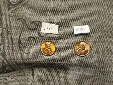 UNC 1955s & 1955d Lincoln Wheat Cent !! BU/MS+++++