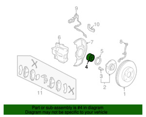 GENUINE OEM HONDA 44300-SCV-A91 FRONT HUB BEARING 07-10 ELEMENT