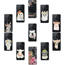 TPU Soft Case For Samsung Galaxy A5 J7 S6 S7 S8 Slim Design Animal pattern Cover
