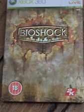 Bioshock Limited Steelbook Edition  Xbox 360 Live Cert 18 Complete