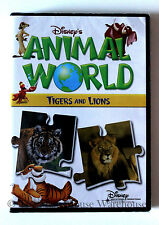 Disney's Animal World Tigers and Lions Disney Nature Children's Educational DVD