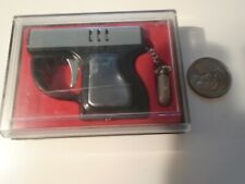 LAUREL Mini Pistol Hand Gun Lighter with case. tested. with case made in japan