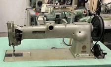 Industrial Singer Single Needle, Long Arm Machine