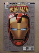 Invincible Iron Man #593 Marvel Legacy 2017 Series Headshot Variant 9.6 NM+