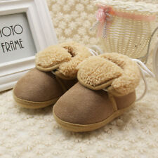 Newborn Baby Girl Boy Winter Warm Boots Toddler Infant Soft Sock Booties Shoes