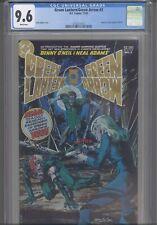Green Lantern/Green Arrow #2 CGC 9.6 1983 DC Comics Reprints Green Lantern 78-79