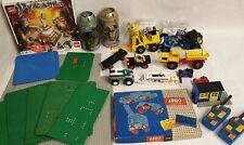 Altes Lego® Set Konvolut Sammlung Fahrzeuge Auto 850 854 Gabelstapler Bausteine
