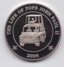 SOMALIA 2004  25 SHILLINGS POPE JOHN PAUL II   NI UNC-
