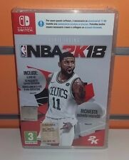 NBA 2K18 SWITCH NUOVO SIGILLATO ITA