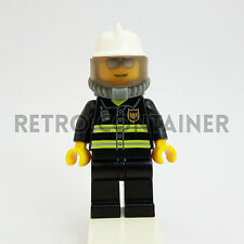 LEGO Minifigures - 1x cty018 - Fireman - Pompiere Omino Minifig Set 7891