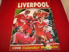 LIVERPOOL FC 1996 CALENDAR MAGAZINE