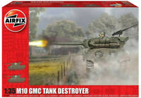 Airfix M10 GMC - US Army 1:35 Scale Plastic Model Tank Destroyer Kit A1360