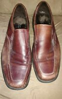 Mens ecco loafers size 47 size 13-13.5 men brown leather