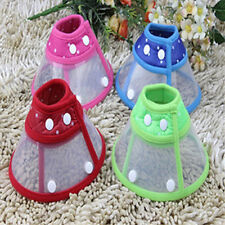 UK_ PET DOG CAT COMFY CONE NECK COLLAR ANTI-BITE MEDICAL RECOVERY PROTECTION SMA