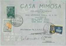 74620 - ANGOLA - POSTAL HISTORY -  AIRMAIL COVER to ITALY 1965 - MAPS