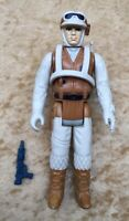 Star Wars Kenner 1980 ESB Hoth Rebel Soldier Complete Figure Orig Weapon