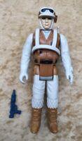 Star Wars Kenner 1980 ESB Hoth Rebel Soldier Complete Figure Orig Weapon