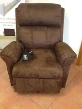 Brown Electric Lift Dual Motor Riser Recliner Chair FREE DELIVERY