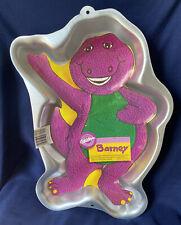New listing Wilton Barney Purple Dinosaur Cake Pan Birthday Party Vintage 1993 2105-6713
