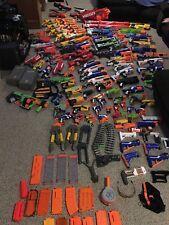 MASSIVE Nerf Lot! Over 80 Guns! Guns, Clips, Stocks, Scopes, Amazing NERF!